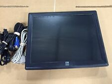 """ELO 1515L 15"""" TOUCH SCREEN MONITOR (COMBO USB/SERIAL) NO STAND JUST MONITOR"""