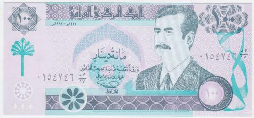 2003 Reprint UNC Iraq P 76-100 Dinars 1991