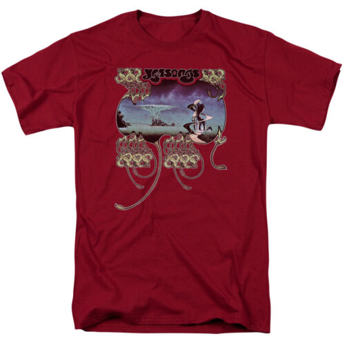 Yes Rock Band YESSONGS Licensed Adult T-Shirt All Sizes