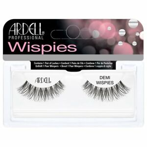 48a83c47f09 Image is loading Ardell-DEMI-WISPIES-BLACK-Fashion-Natural-False-Eyelashes-