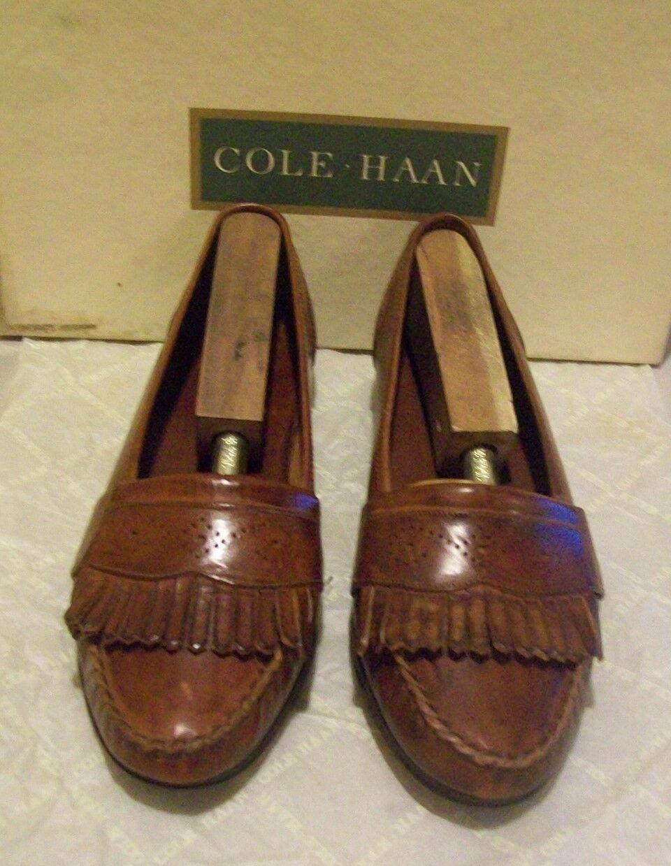 New Cole-Haan Treviso 7 M tobacco (2908)