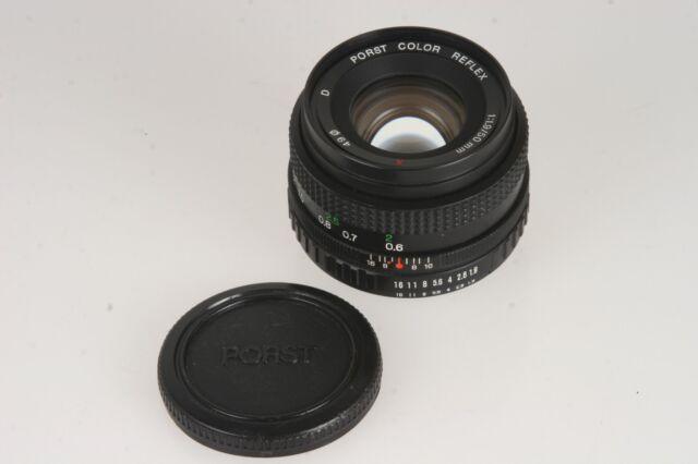 Porst Color Reflex 1,9/50mm D #540418 (Fuji Ax-Bajonett)