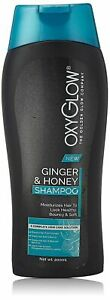 Oxyglow Golden Glow Ginger and Honey Shampoo, 200ml