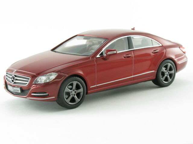 Maravilloso Mercedes-Benz Clase CLS 2011-rosso - 1 43