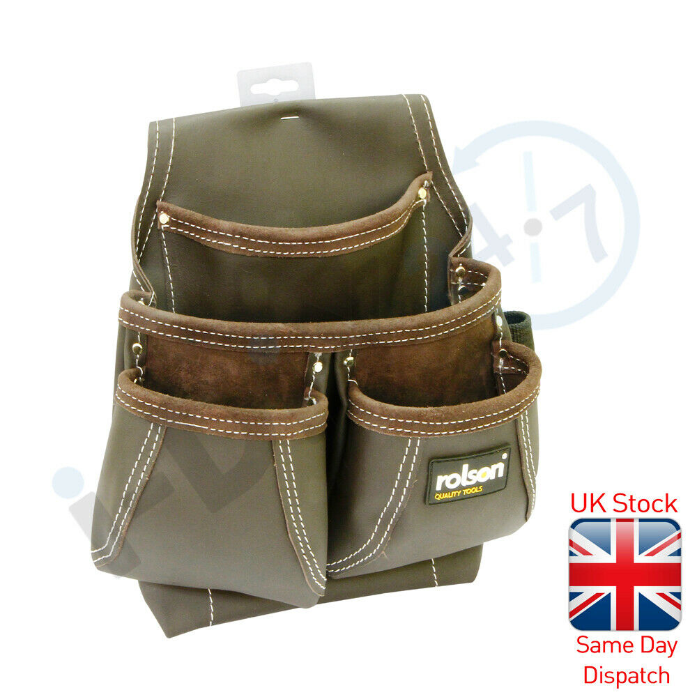 Rolson Farmer's Tool Belt Leather Oil Tanned Leather