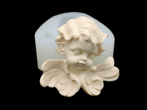 Ribbon Angel S Silicone Mold Candle Chocolate Polymer Clay Jewelry Soap Wax