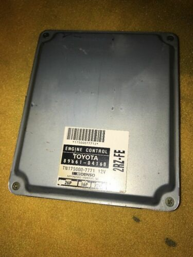 96 Toyota Tacoma 2.4L 2RZ-FE AT 4x2 ECU ECM PCM Engine Computer 89661-04160 OEM