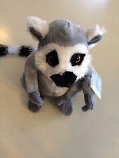 Webkinz Plush Stuffed Animal Ringtailed Lemur  With Tag & Code