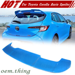 Fit For Toyota Corolla Hatchback E210 Auris OE Type Rear Roof Spoiler Unpainted