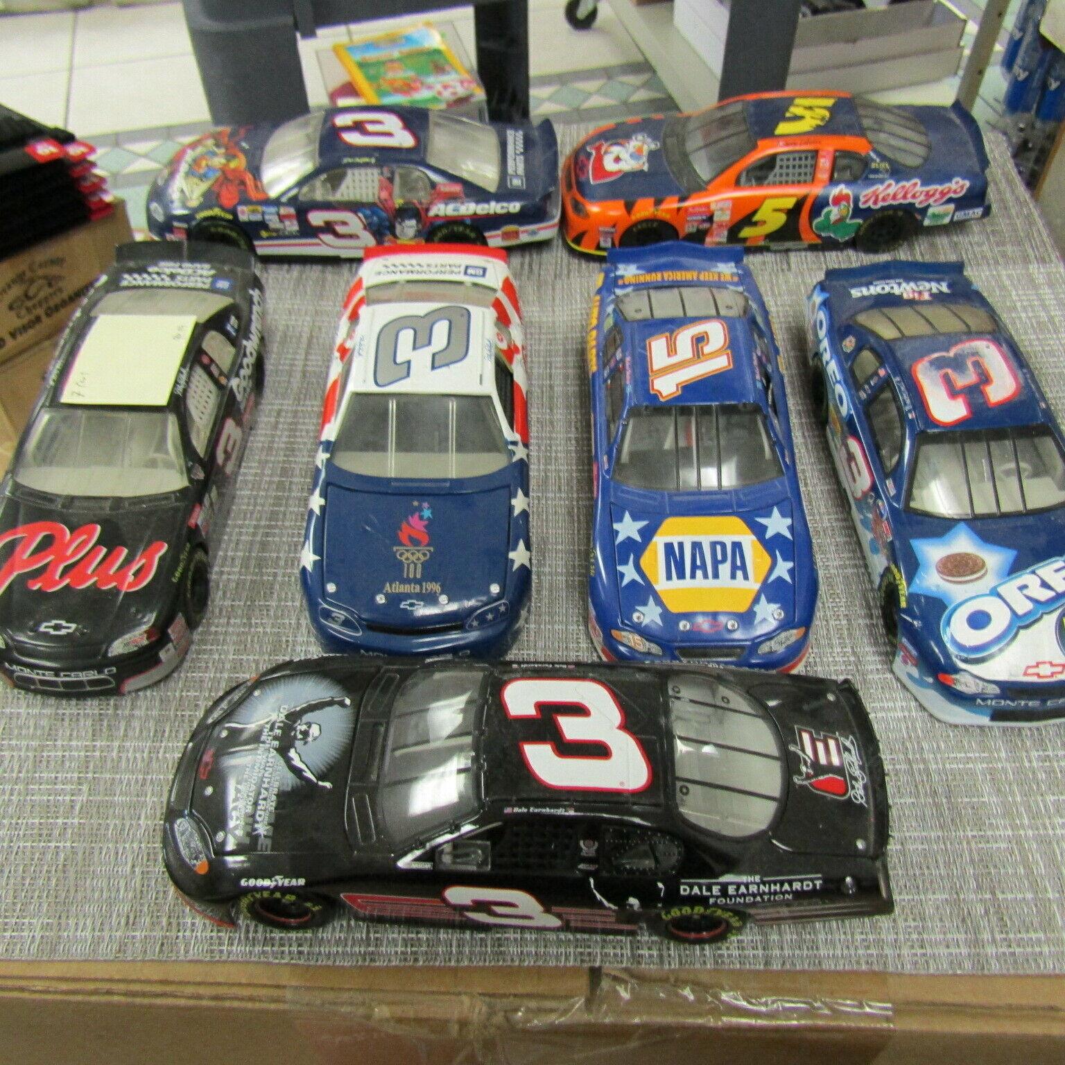 7 VARIOUS 9  DIECAST MODEL CARS, & 15  PLEASE READ   R159