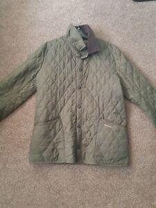 mens-barbour-quilted-jacket-medium-green-olive