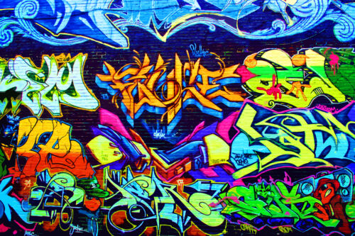 STUNNING POP ART GRAFFITI URBAN STREET ART CANVAS #744 QUALITY FRAMED PICTURE