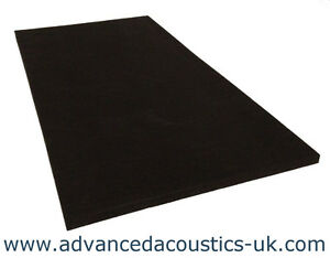 "Advanced Acoustics 2ft by 4ft by 2/"" Acousti-Slab Acoustic Absorption Foam Panel"
