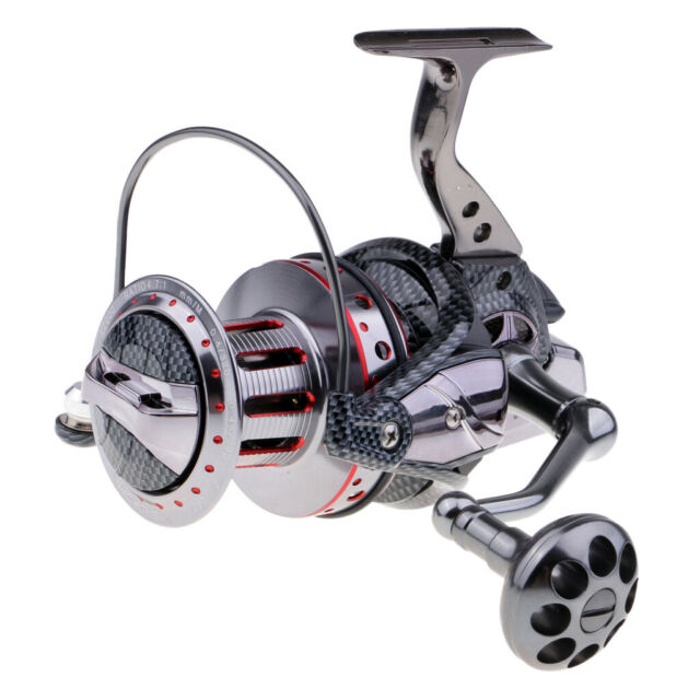 Spinning Fishing Reel Sea Saltwater Surf Long Casting High Speed 500-11000 Bass