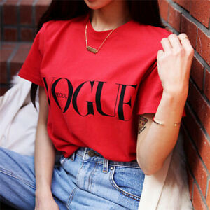 Fashion-Girl-Short-Sleeve-Tops-Clothes-For-Women-Vogue-Letter-Printed-T-shirt-FO