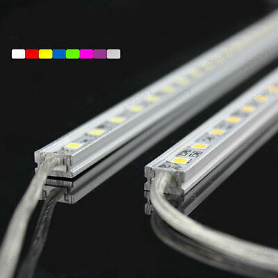 5x30-LED SMD5050 Hard Strip Light Outdoor Wall Lamp Cabinet Waterproof 12V 50cm