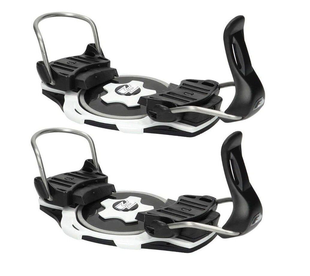 F2 Race Titanium Snowboard Binding Plates  binding tip White New Boots j18  100% brand new with original quality