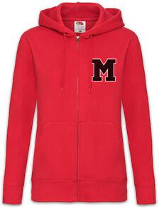 M-Team-Damen-Zipper-Hoodie-Glee-McKinley-Team-Symbol-Logo-Titans-High-Mannschaft