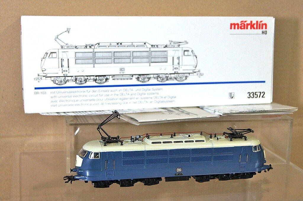 Marklin Märklin 33572 Digital 6080 Reacabados Db Azul Tee Br 103 E-Lok Loco Nc