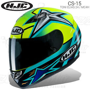 CASCO-INTEGRALE-HJC-CS-15-REPLICA-TONI-ELIAS-24-MC4H-MOTO-2019-POLICARBONATO