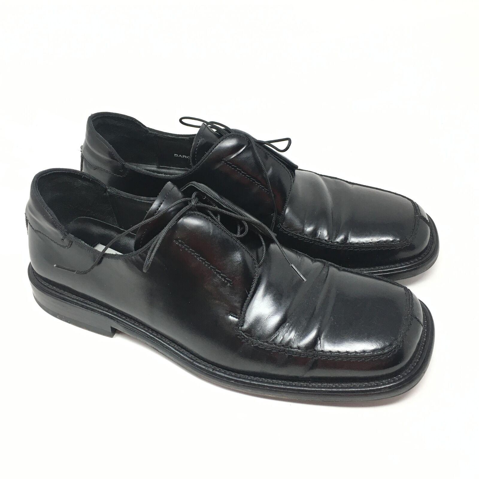 edizione limitata Uomo Mezlan Bargino scarpe Oxford Dimensione 10M nero Leather Apron Apron Apron Toe Made Spain K5  seleziona tra le nuove marche come