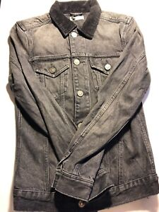 All Saints Men S Designer Denim Jacket Ebay