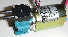 KNF NF 5 Micro Diaphragm Liquid Pump PML6355-NF 5 IP30 24V .1A 2.4W