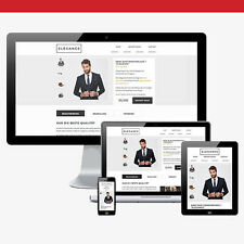 Ebayvorlage ELEGANCE eBay 2017 - HTML Template Design - Vorlage - inkl. Editor