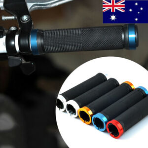 2pcs Rubber Bicycle Grips Cycling Mountain Bicycle Scooter Handle Bar Grip JXZS