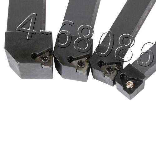 SER1616H16 SER2020K16 SER2525M16 thread lathe turning tool 4pc SER1212H16