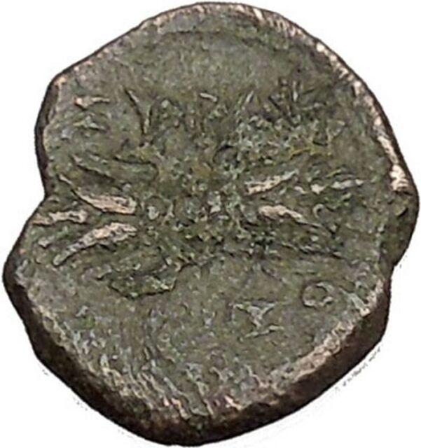 Syracuse in Sicily under Agathocles 305BC Athena Thundebolt Greek Coin  i51864