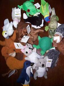 AUSTRALIAN-ANIMAL-FINGER-PUPPET-COLLECTION-Full-Set-17-Different-ANIMALS