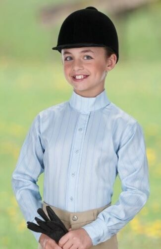 ENGLISH SADDLE HUNTER RIDING PREMIUM SHOW SHIRT WITH BONUS CHILDS /& MISSES SIZES