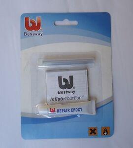Bestway Vinyl Liner Pool Repair Patch Glue Kit For