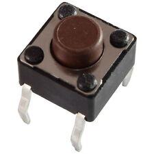 10 Diptronics DTS-62N-V Mini-Taster 12V 50mA 1xEIN 1,6N 6x5,0mm liegend 855611