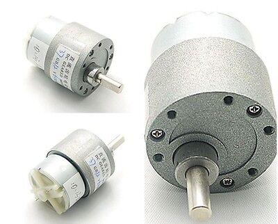 DC 12V 37MM 37GB 200mA High Torque Gear Box Electric Motor 60RPM 2.5kg.cm 0.2A