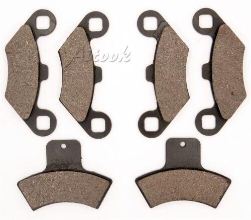 Front Rear Brake Pads For Polaris Scrambler 400 2x4 4x4 1998 1999 2000 2001 2002