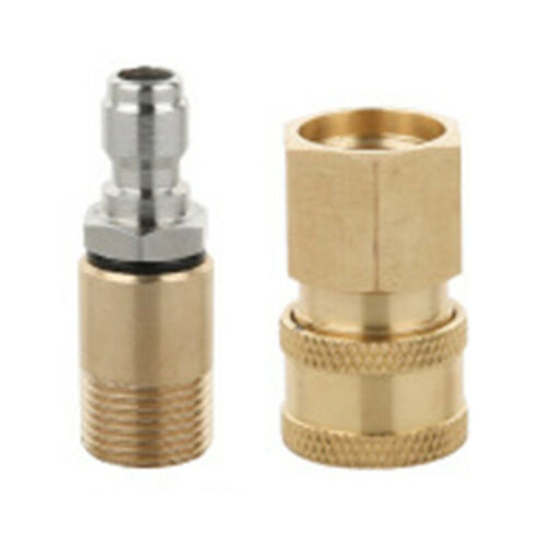 Pressure Washer Foam Pot Adapter Quick Plug M18 Connector For Karcher HD5-11C