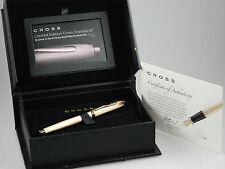 Cross Townsend Limited Edition Patronenfüller 23 Karat vergoldet fountain pen