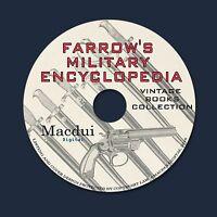 Farrow's military encyclopedia (1885) Vintage eBooks Collection 4 PDF on 1 DVD