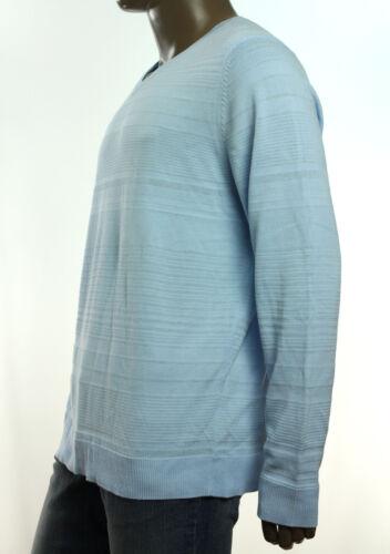 $72 NEW MENS ALFANI  SLIM FIT V NECK LIGHTWEIGHT SOLID COTTON VISCOSE SWEATER