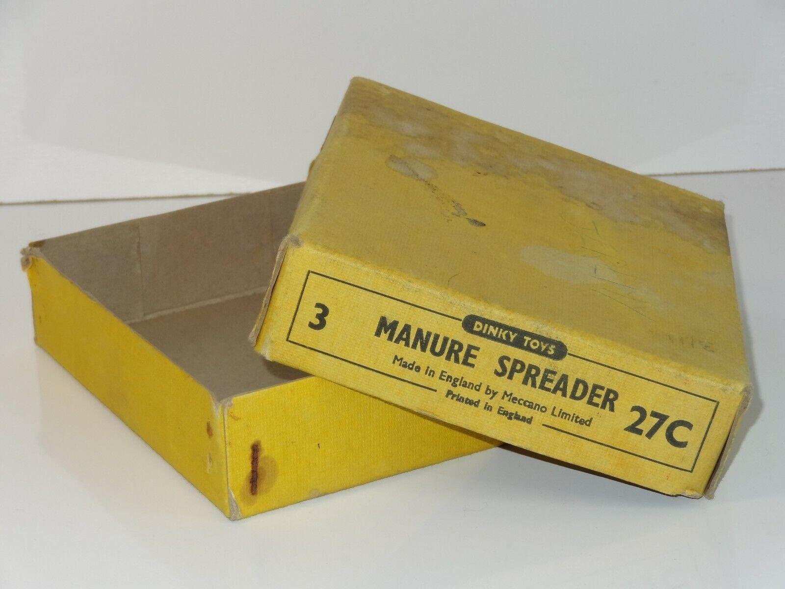 ventas directas de fábrica Dinky esparcidor de de de estiércol Vacío Caja - 27C Caja De Comercio  Con precio barato para obtener la mejor marca.