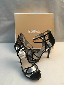 cb7e689d640 Image is loading Michael-Kors-Jaida-High-Spike-Heel-Sandal-Platform-