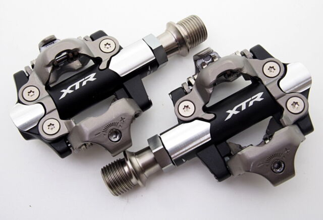 291e6c387b4 2018 Shimano XTR XC Racing Pd-m9100 -3mm Shorter Axle Mountain SPD Pedals