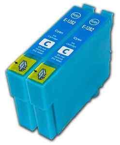 2-Cyan-T1282-non-OEM-Ink-Cartridge-For-Epson-T1285-Stylus-S22-SX125-SX130-SX230