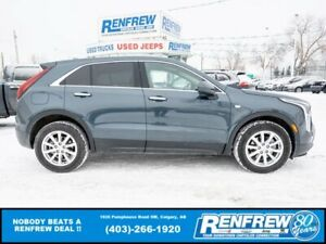 2020 Cadillac XT4 **SPRING SALE**Luxury AWD, LOW KMS! Heated Leather, Remote Start, Backup Camera