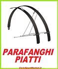 COPPIA PARAFANGHI piatti in ALLUMINIO per bicicletta City Bike - Ibrida 26