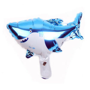 Mini-Shark-Foil-Balloons-Happy-Birthday-Party-Decor-Bar-Christmas-Gift-UK