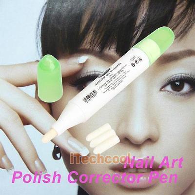 Portable Polish Pen 1 Pcs Nail Art Corrector Remover Refers To The Edge Pen #T1K