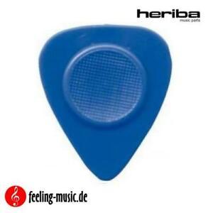 Heriba-Plektren-Modell-131-Standard-blau-hart-6-Stueck